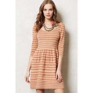 Anthropologie Knitted & Knotted Sweater Dress XSP